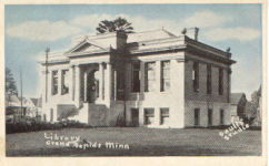 Grand Rapids, MN Carnegie library