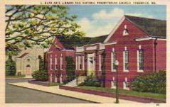 C. Burr Artz library in 1951.