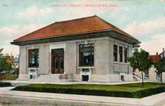 Germantown, OH Carnegie library