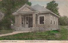Geo. Gamble library, of Danbury, NH