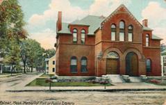 Palmer, MA public library