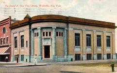 1910 Wellsville, NY public library