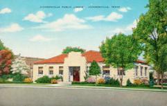 Jacksonville, TX public library