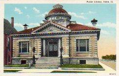 Pekin, IL Carnegie library. Demolished.