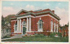 Stoughton, MA public library