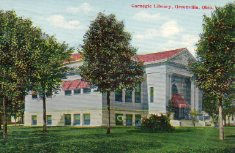 Greenville, OH Carnegie library