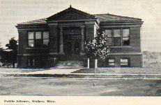 Willmar, MN Carnegie library, Type A plan