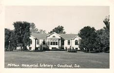 Mitten Memorial Library, Goodland, IN
