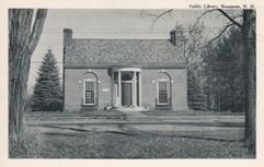 Boscawen, NH public library
