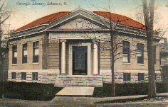 Lebanon, OH Carnegie library