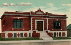 Hobart, OK Carnegie library