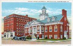 Newport News, VA public library, plus medical arts building