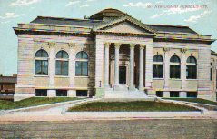 One of New Orleans' demolished Carnegie libraries.