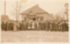 Dedication of Webster Library, Niagara N.C., Jan. 23-1912