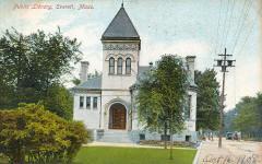 Parlin Memorial Library, Everett, MA