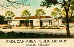 Artist's rendering of the proposed Paducah (KY) Area Public Library