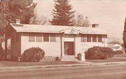 Orosi, CA's Carnegie library, the last built in California.