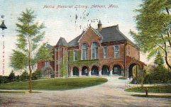 Nevins Memorial Library, Methuen, MA