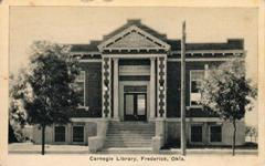 Fredeick, OK Carnegie library