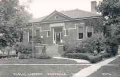 Knoxville, IA Carnegie library