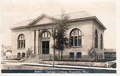 Evanston, WY Carnegie library