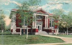 Perry, OK Carnegie library