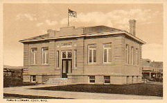 Cody, WY Carnegie library, now demolished.