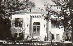 El Dorado, KS Carnegie library