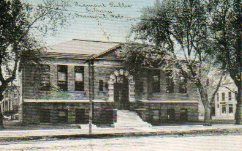 Fremont, NE Carnegie library, demolished