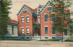 Coudersport, PA public library