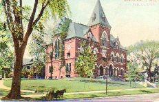 Springfield, MA public library, preceding the Carnegie building
