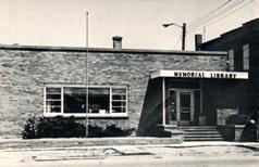 Galesburg, MI Memorial Library