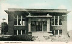 Grayville, IL Carnegie building