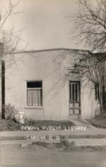 Public library, Canova, SD