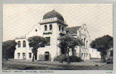 Hayward, CA Carnegie library