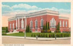 Waltham, MA public library