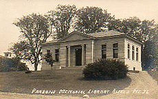 Parson's Memorial Library of Alfred, Maine