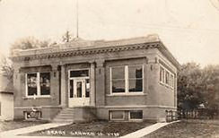 Garner, IA Carnegie library, now demolished.