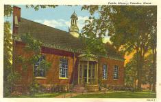 Camden, ME public library