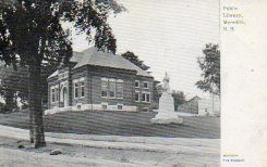 Meredith, NH public library