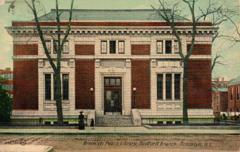 Bedford branch, Brooklyn, NY Carnegie library