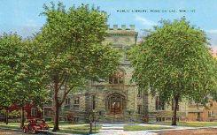 Fond du Lac, WI Carnegie library, now demolished.