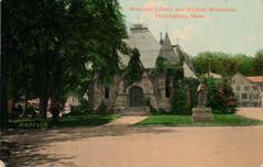 Edgell Memorial Library, Framingham, MA