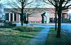 I.M. Pei designed Cleo Rogers Memorial Library, Columbus, IN