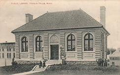 Fergus Falls, MN Carnegie library, now demolished.