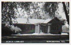 Winchester, IL Canegie library