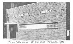 Portage, PA public library