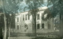Flora, IL Carnegie library. Demolished.