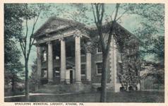 Spalding Memorial Libray, Athens, PA