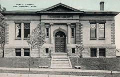 Two Harbors, MN Carnegie library, Type A plan